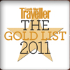 Condé Nast Traveller, UK Gold List, January 2011