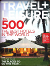 Travel + Leisure T+L 500 – The Best Hotels in the World, January 2012