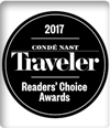 Condé Nast Traveler, Readers' Choice Awards, October 2017