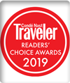 Travel + Leisure's Readers Choice Awards, July 2019
