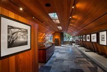 Post Ranch Gallery interior