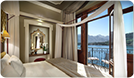 views from a Grand Hotel Tremezzo room