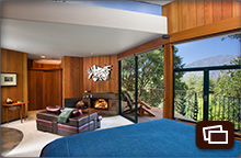 Interior views of a Upper Mountain House room
